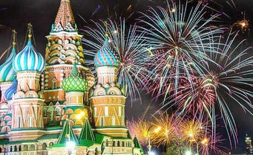 Новый год в Москве. 2021